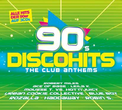 90s Disco Hits: The Club Anthems