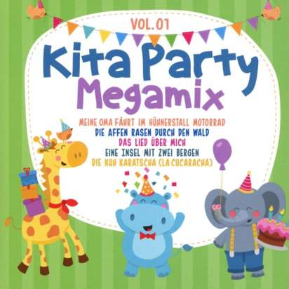 Kita Party Megamix Vol1 2 CDs