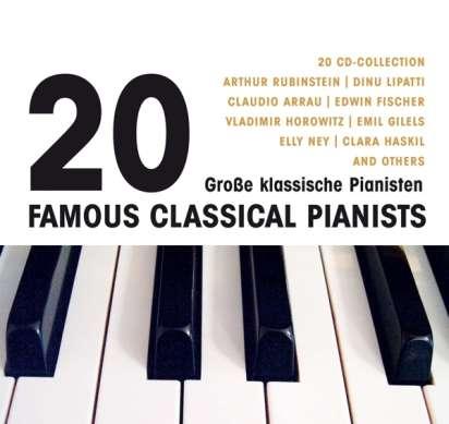 20 Große Pianisten (20 CDs) – jpc