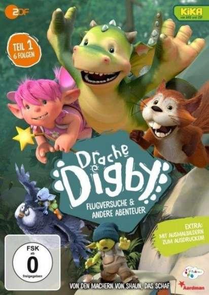 Drache Digby Teil 1: Flugversuche & andere Abenteuer (DVD) – jpc
