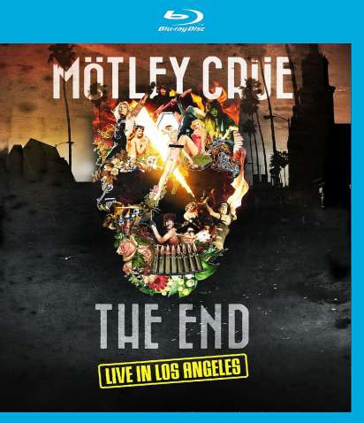 Mötley Crüe The End Live In Los Angeles 2015 Blu Ray Disc Jpc
