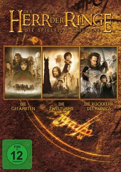 Der Herr Der Ringe Die Trilogie 3 Dvds Jpc