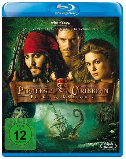 Pirates Of The Caribbean Fluch Der Karibik 2 Blu Ray Jpc