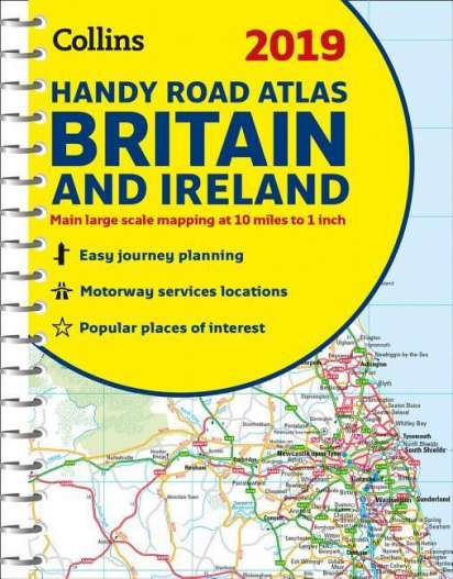 2019 Collins Handy Road Atlas Britain - Collins Maps (Buch) – jpc