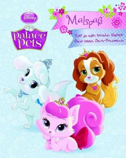 Walt Disney Palace Pets Malspass Buch