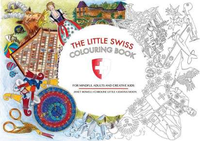 The Little Swiss Colouring Book - Janet Howell (Buch) – jpc
