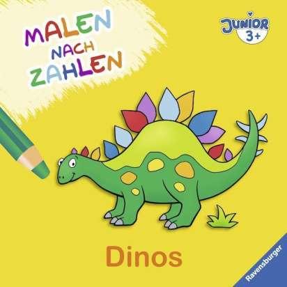 Malen Nach Zahlen Junior Dinos