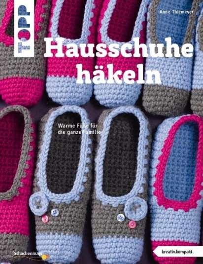 Hausschuhe häkeln (kreativ.kompakt.) - Anne Thiemeyer (Buch) – jpc