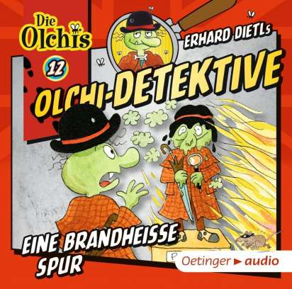 Erhard Dietl: Olchi-Detektive 12 - Eine brandheiße Spur (CD)