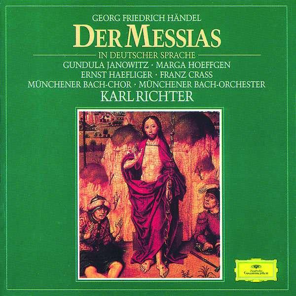 Georg Friedrich Händel: Der Messias (in dt.Sprache) (3 CDs ...