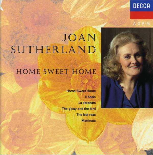 Joan Sutherland Home Sweet Home Cd Jpc