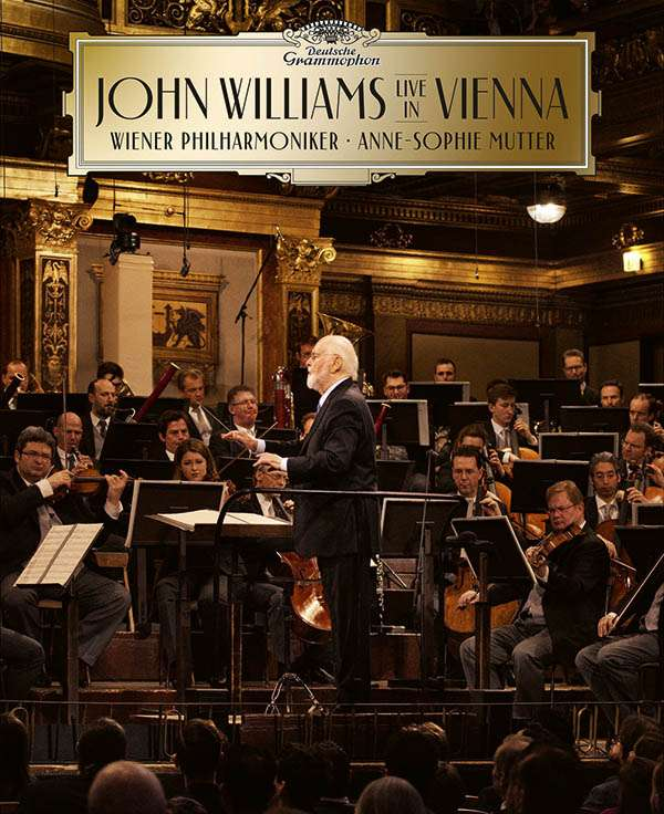 Anne-Sophie Mutter & John Williams - In Vienna (Deluxe-Ausgabe mit Blu-ray), 1 CD and 1 Blu-ray Disc