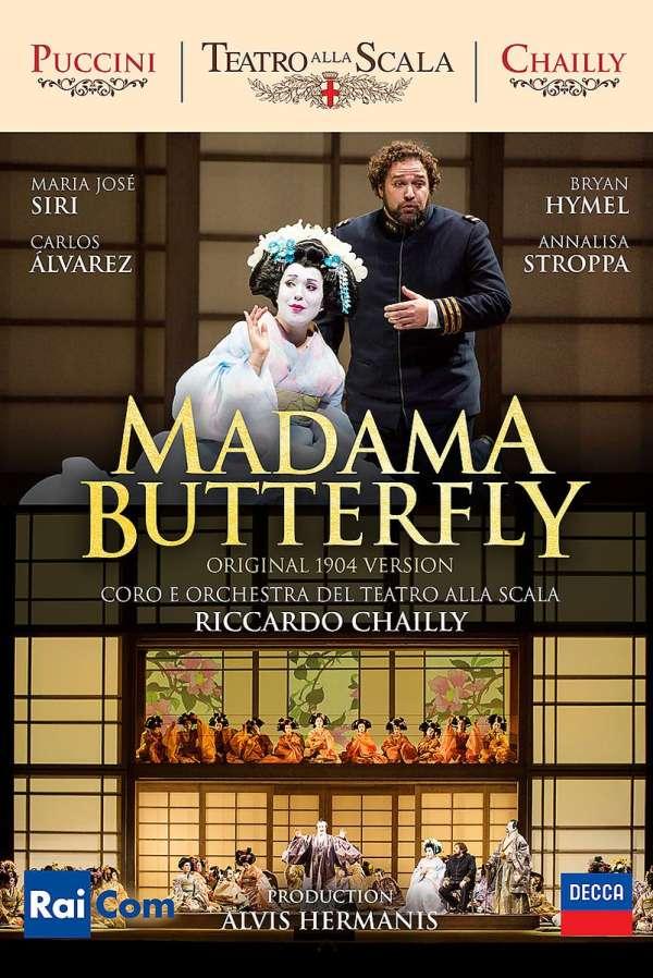 Giacomo Puccini (1858-1924): Madama Butterfly (Original-Version von 1904), 2 DVDs