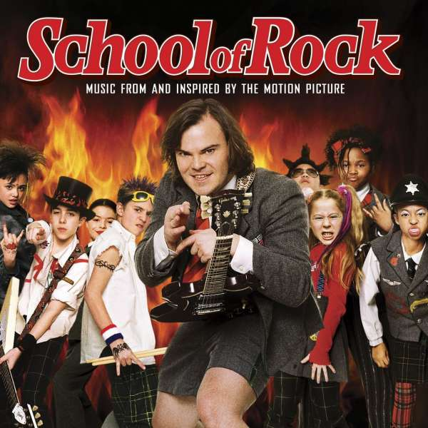 Filmmusik School Of Rock Music From Amp Inspired By The