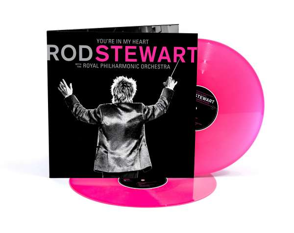 Rod Stewart: You're In My Heart: Rod Stewart With The Royal Philharmonic Orchestra (Limited Edition) (Pink Vinyl) (exklusiv in D,A,CH für jpc!)