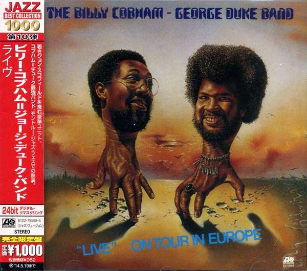 Billy Cobham George Duke Live On Tour In Europe Cd Jpc