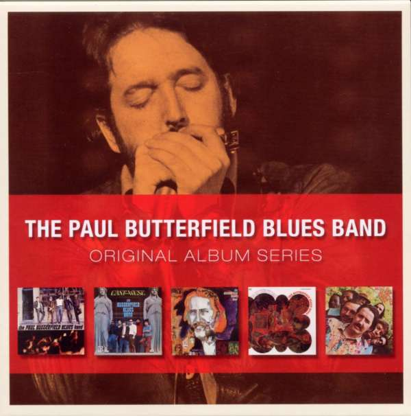 Paul Butterfield Original Album Series 5 Cds Jpc