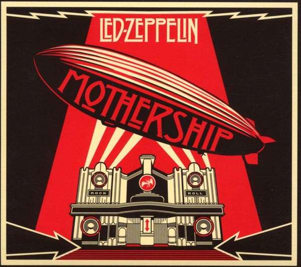 Led Zeppelin Mothership Deluxe Edition 2 Cd Dvd 2 Cds Jpc