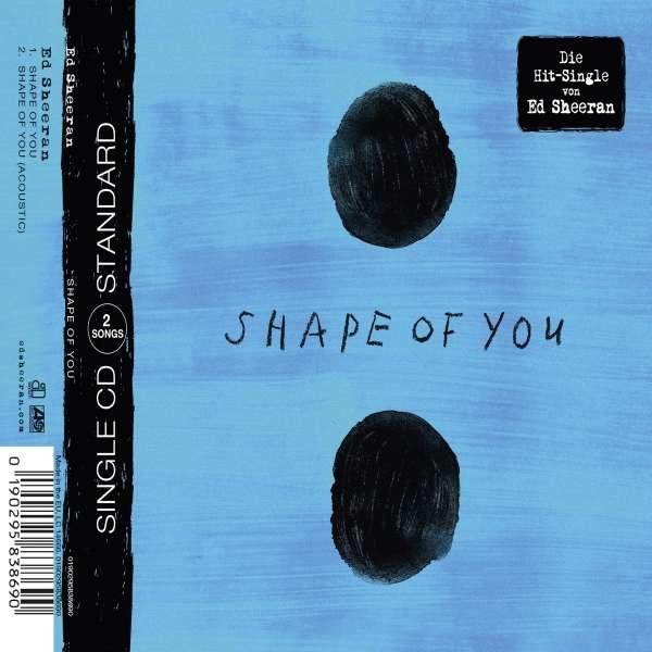 Ed Sheeran Shape Of You Maxi Cd Jpc De