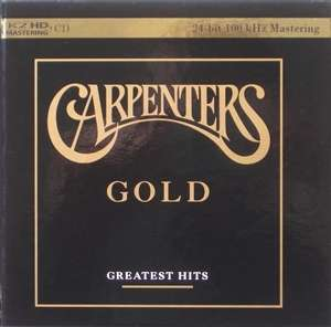 The Carpenters Gold Greatest Hits Cd Jpc