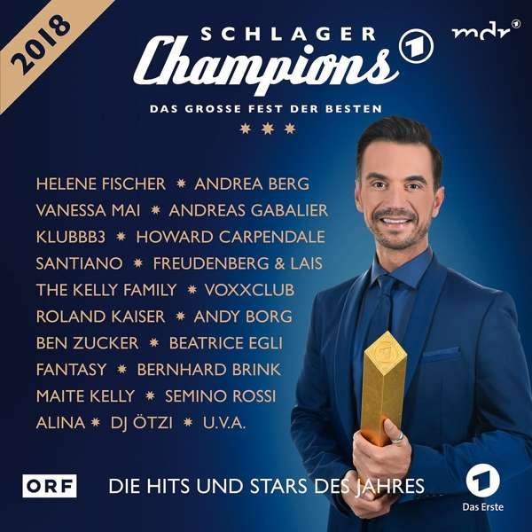 Schlager Champions 2018 Das Große Fest Der Besten 2 Cds Jpcde
