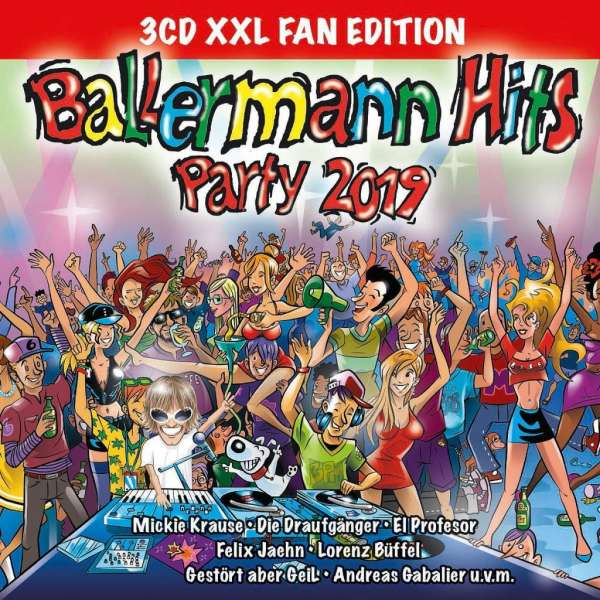 Ballermann Hits Party 2019 Xxl Fan Edition 3 Cds Jpc