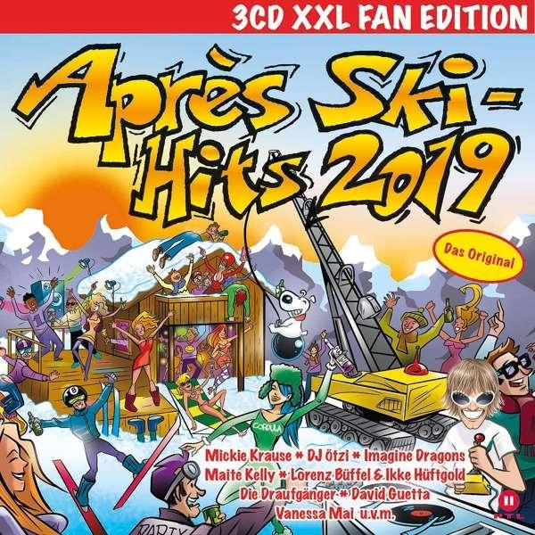Après Ski Hits 2019 Xxl Fan Edition 3 Cds Jpc