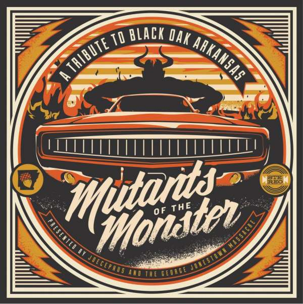 Mutants Of The Monster A Tribute To Black Oak Arkansas 2 Lps Jpc