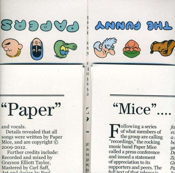 Paper Mice: The Funny Papers