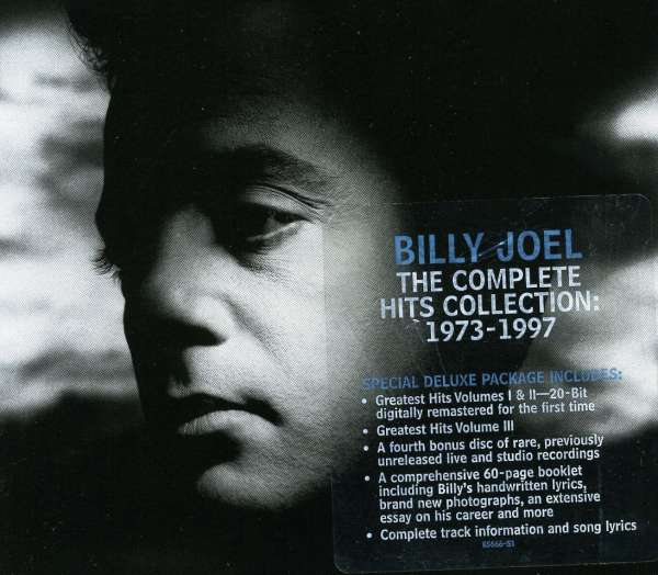 Greatest Hits Vols 1 2 Billy Joel: Billy Joel: Complete Hits Collection 1973-1997 (4 CDs)