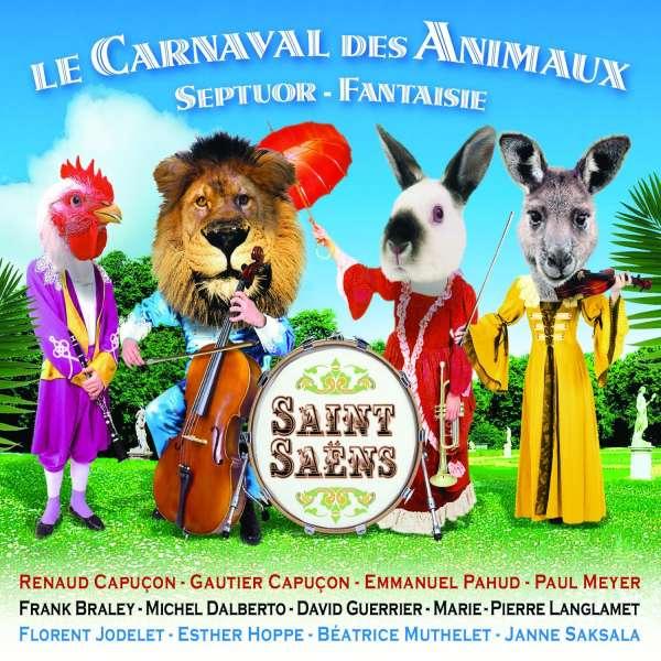 camille saint saens karneval der tiere kammermusik version cd jpc. Black Bedroom Furniture Sets. Home Design Ideas
