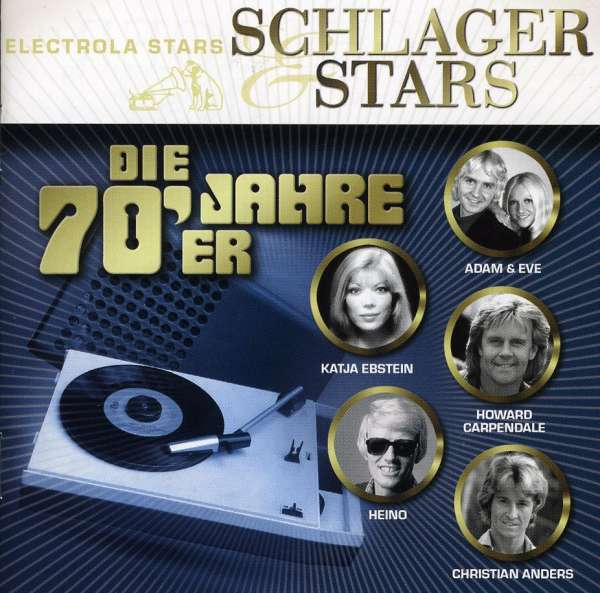 schlager stars die 70er jahre cd jpc. Black Bedroom Furniture Sets. Home Design Ideas