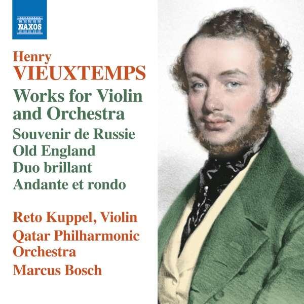Henri Vieuxtemps: Werke für Violine & Orchester (CD) – jpc
