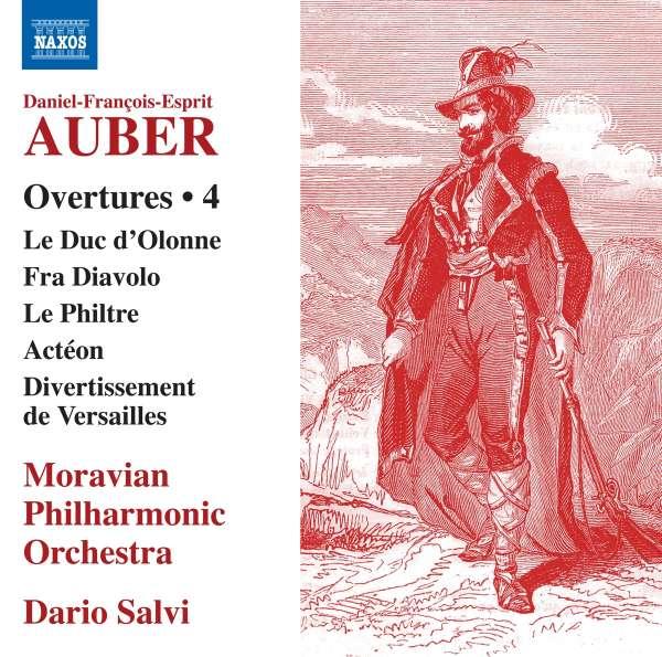 Daniel-Francois-Esprit Auber: Ouvertüren Vol. 4 (CD) – jpc