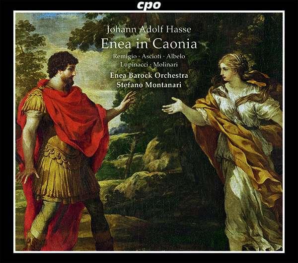 Johann Adolph Hasse (1699-1783): Enea in Caonia (Oper in 2 Akten), 2 CDs