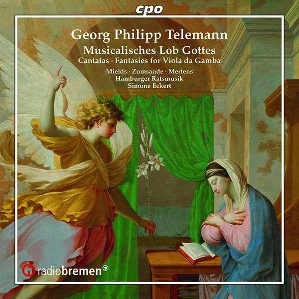 """Georg Philipp Telemann: Kantaten (aus """"Musicalisches Lob Gottes"""") (CD) – jpc"""