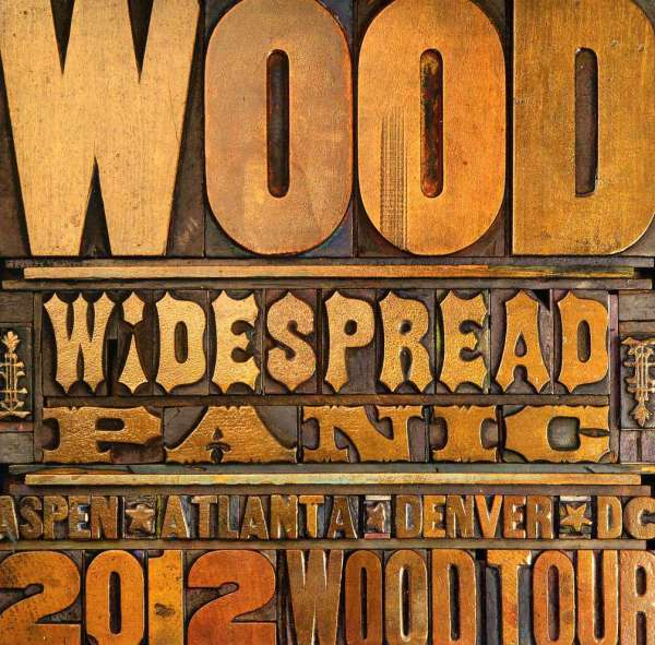 Widespread Panic Wood Tour Denver