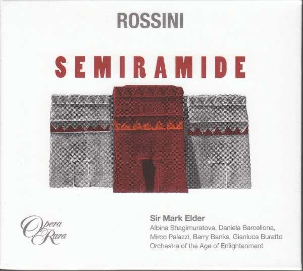 Gioacchino Rossini (1792-1868): Semiramide, 4 CDs