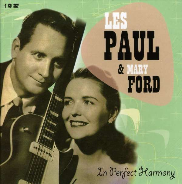 Les Paul Amp Mary Ford In Perfect Harmony 4 Cds Jpc