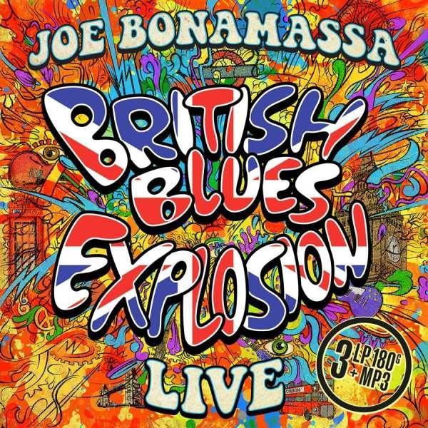 Joe Bonamassa British Blues Explosion Live 180g 3 Lps Jpc