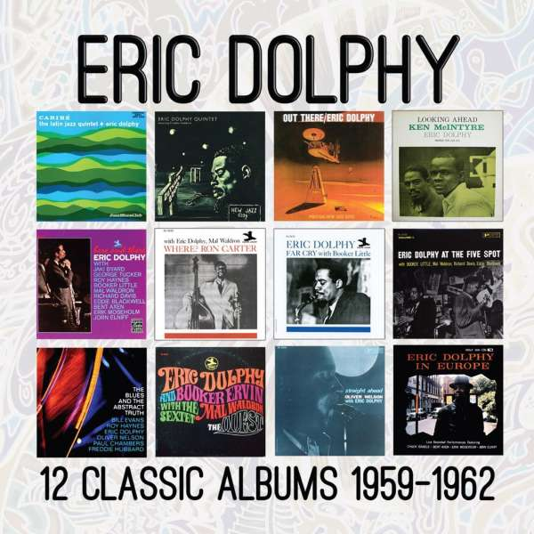Download mp3 full flac album vinyl rip Curtsy - Eric Dolphy - 12 Classic Albums 1959-1962 (CD)