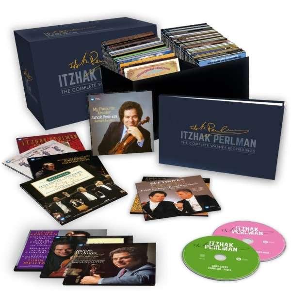 Itzhak Perlman The Complete Warner Recordings 77 Cds Jpc