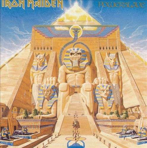 iron maiden powerslave 180g auf lp
