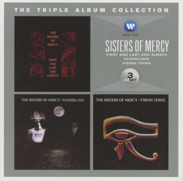 The Sisters Of Mercy The Triple Album Collection 3 Cds