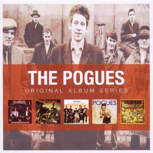 Pogues Original Album Series 5 Cds Jpc