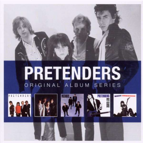 The Pretenders Original Album Series 5 Cds Jpc