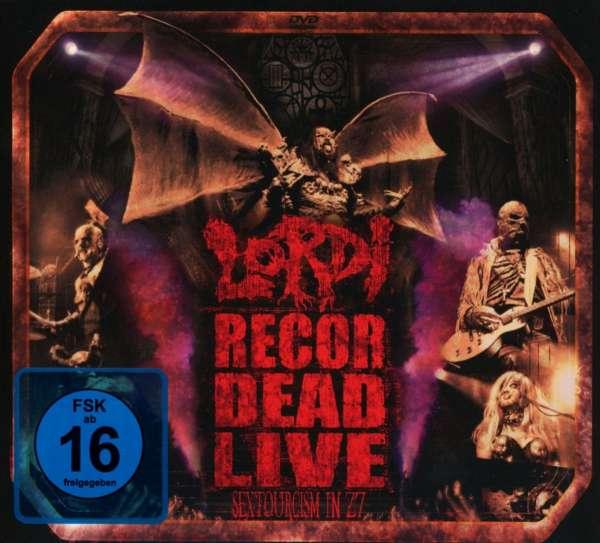LORDI - set to release new live album Recordead Live