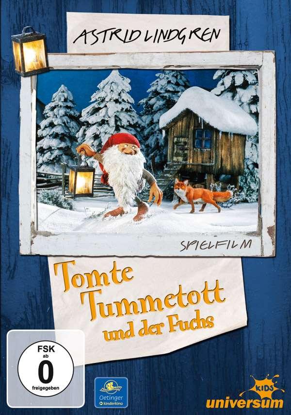 Tomte Tummetott und der Fuchs, DVD