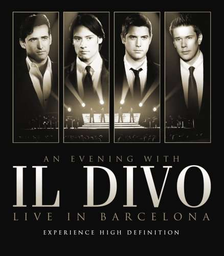 Il divo an evening with il divo live in barcelona blu - Il divo meaning ...