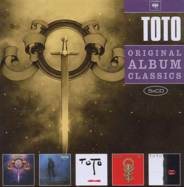 Toto Original Album Classics 5 Cds Jpc